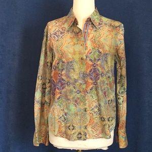 Robert Graham button down shirt, sz M